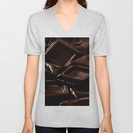 Mouth-melting Chocolate Unisex V-Neck
