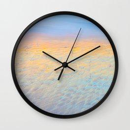 Glistening Carmel Beach, Carmel-By-The-Sea Wall Clock