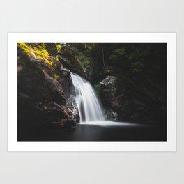 Bingham Falls - Vermont, USA Art Print