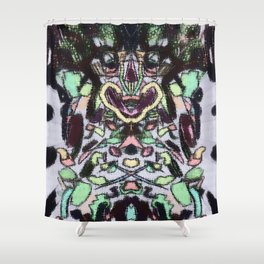 strapped for cash Shower Curtain