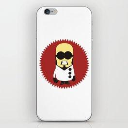 Dr. Steel minion iPhone Skin