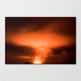 Volcanos National Park 10 Canvas Print