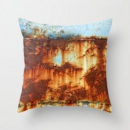 Colors of Rust _756 / ROSTart Throw Pillow