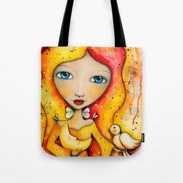 Mystical Moon Princess Tote Bag