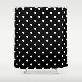 Polka Night Shower Curtain