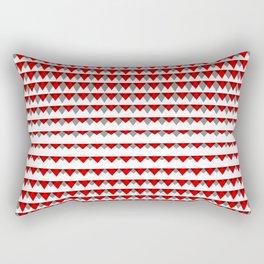 embers geometric pattern Rectangular Pillow