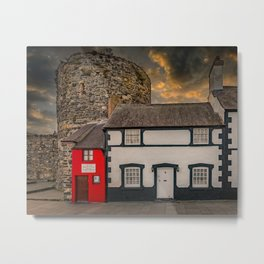 Smallest House In Great Britain Metal Print