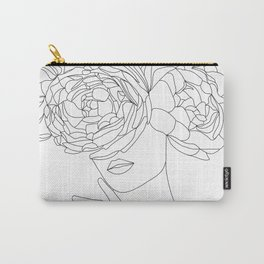 peony thoughts Carry-All Pouch
