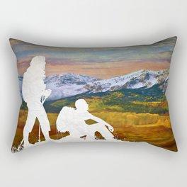 Autumn Hike Rectangular Pillow