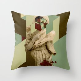 Ms. Teardrops Throw Pillow