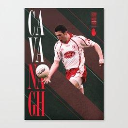 GAA Posters – Sean Cavanagh Canvas Print