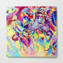 Wassily Kandinsky Fugue Metal Print