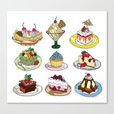 What you DESSERT is what you get! Canvas Print