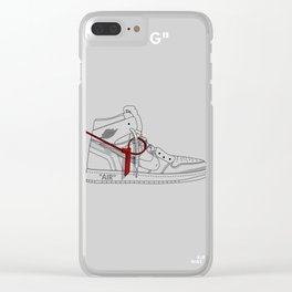 THE TAG Clear iPhone Case