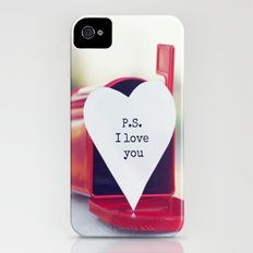P.S. I love you iPhone (4, 4s) Slim Case