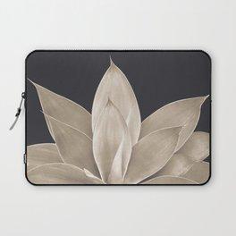 Sepia Agave #1 #tropical #decor #art #society6 Laptop Sleeve