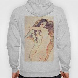 """Egon Schiele """"Two women embracing"""" Hoody"""