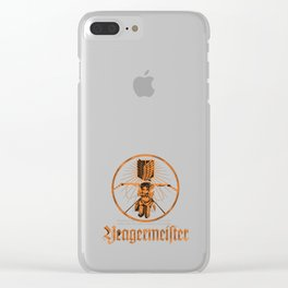yeagermeister Clear iPhone Case