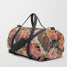 Because Dachshund Duffle Bag