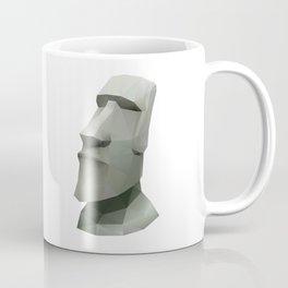 Moai Polygon Art Coffee Mug