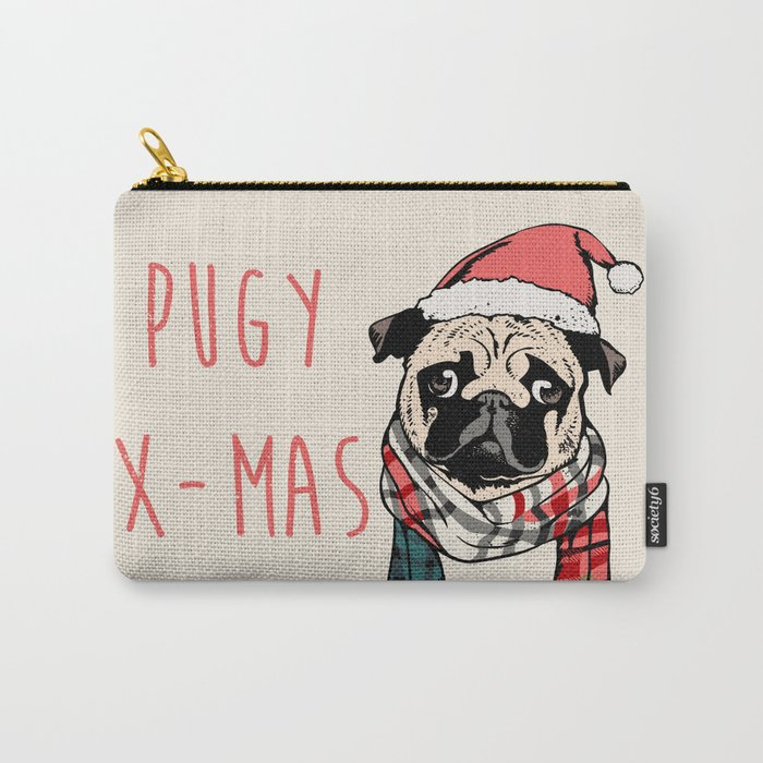 Pugy X-Mas Carry-All Pouch