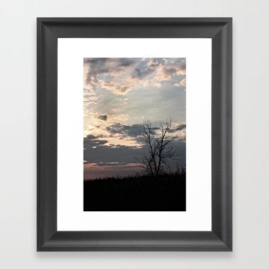 Dendrite Framed Art Print