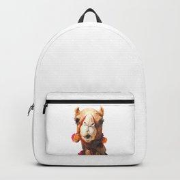 Camel Portrait Backpack