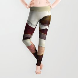 Melon Mountains Leggings