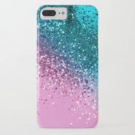 Tropical Beach Lady Glitter #8 #shiny #decor #art #society6 iPhone Case