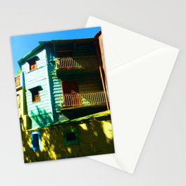 Mellow Yellow, La Boca, Buenos Aires Stationery Cards