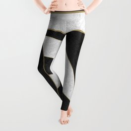 Geometric Marble 01 (abstract) Leggings