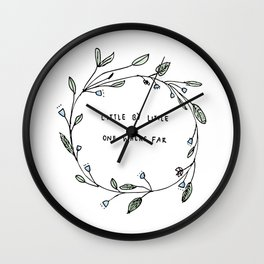 Little By Litte Wall Clock