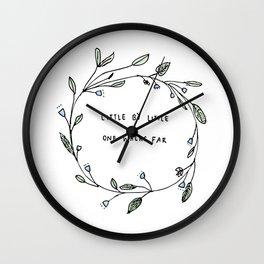 Little By Litte Wall Clock