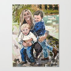 Swanzy Family Portrait Canvas Print