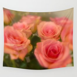 Bed of Roses  Wall Tapestry