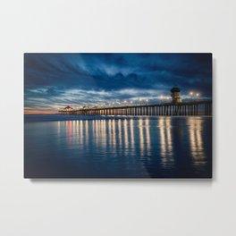 HB Sunset 1-29-18 Metal Print