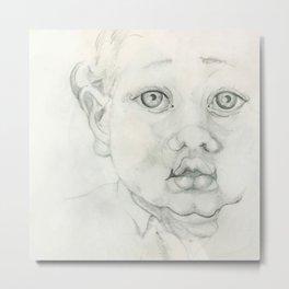 Baby Face  Metal Print