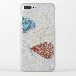 leavE. Clear iPhone Case