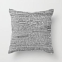 Strands Throw Pillow