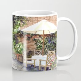 Terrace of The Manor House Coffee Mug