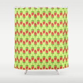 It's Summer Time Popsicle Shower Curtain