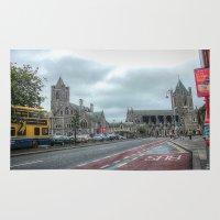 dublin Area & Throw Rugs featuring Dublin by Christine Workman