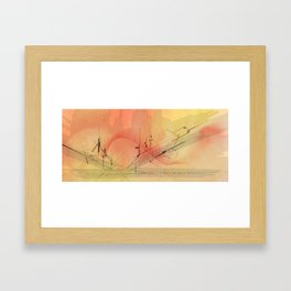 Skyliner Framed Art Print