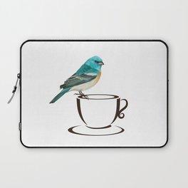 Coffee Bird Laptop Sleeve