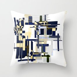 Do Cities Have Colors? Throw Pillow