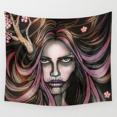 The Secret Blossoming Wall Tapestry
