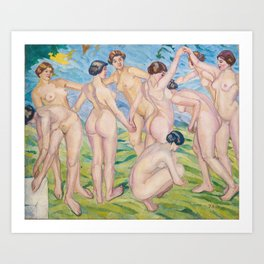 Francisco Iturrino - Nudes Art Print