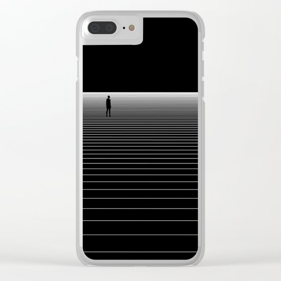 I bet you look good on the dance floor Clear iPhone Case