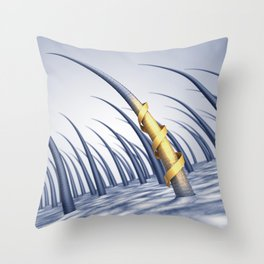 Hair care Throw Pillow