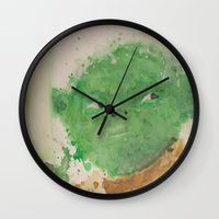 yoda Wall Clocks featuring Yoda by lindenhellart